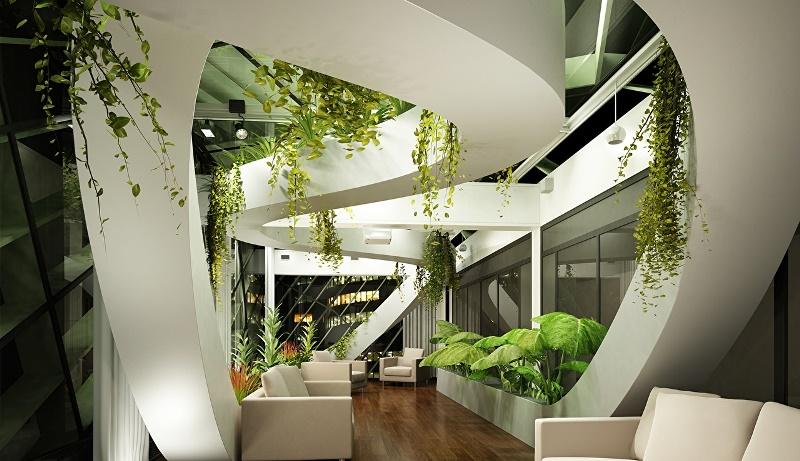Комнатные растения – элемент декора интерьера. Как правильно размещать и ухаживать?